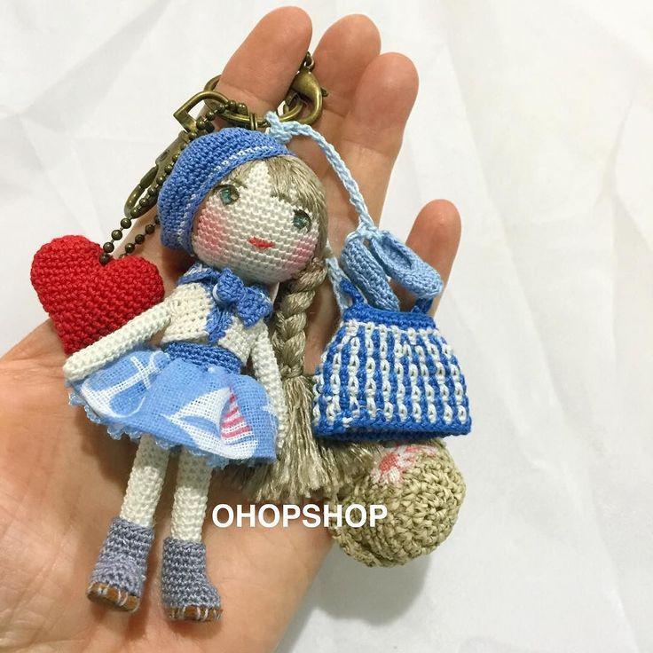 bagcharm #muffinthedoll #crochet #crochetdoll #crochetdolls #amigurumi