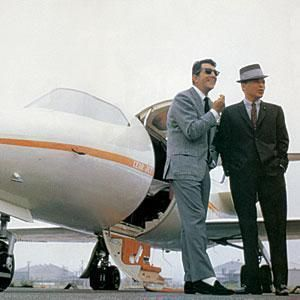 King of Cool (Dean Martin) and The Chairman (Frank Sinatra)