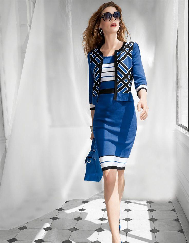 Blau schwarzes kleid effekt