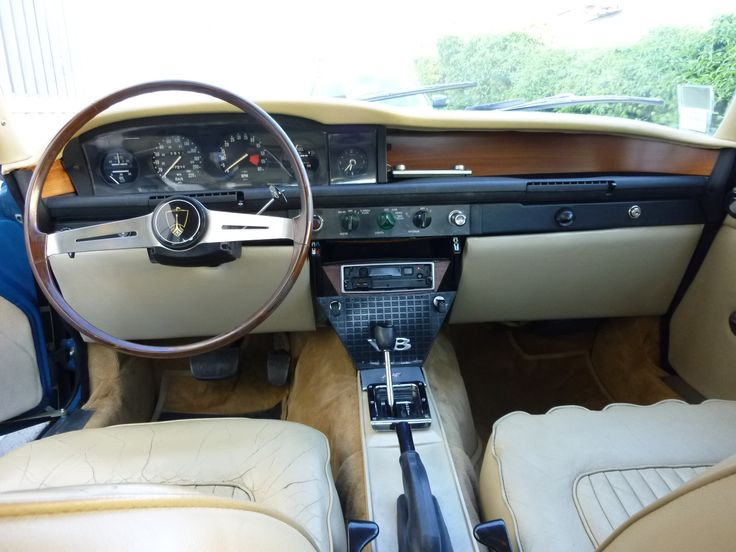 I like what he has done with the gear selector, not so keen on the cream dash