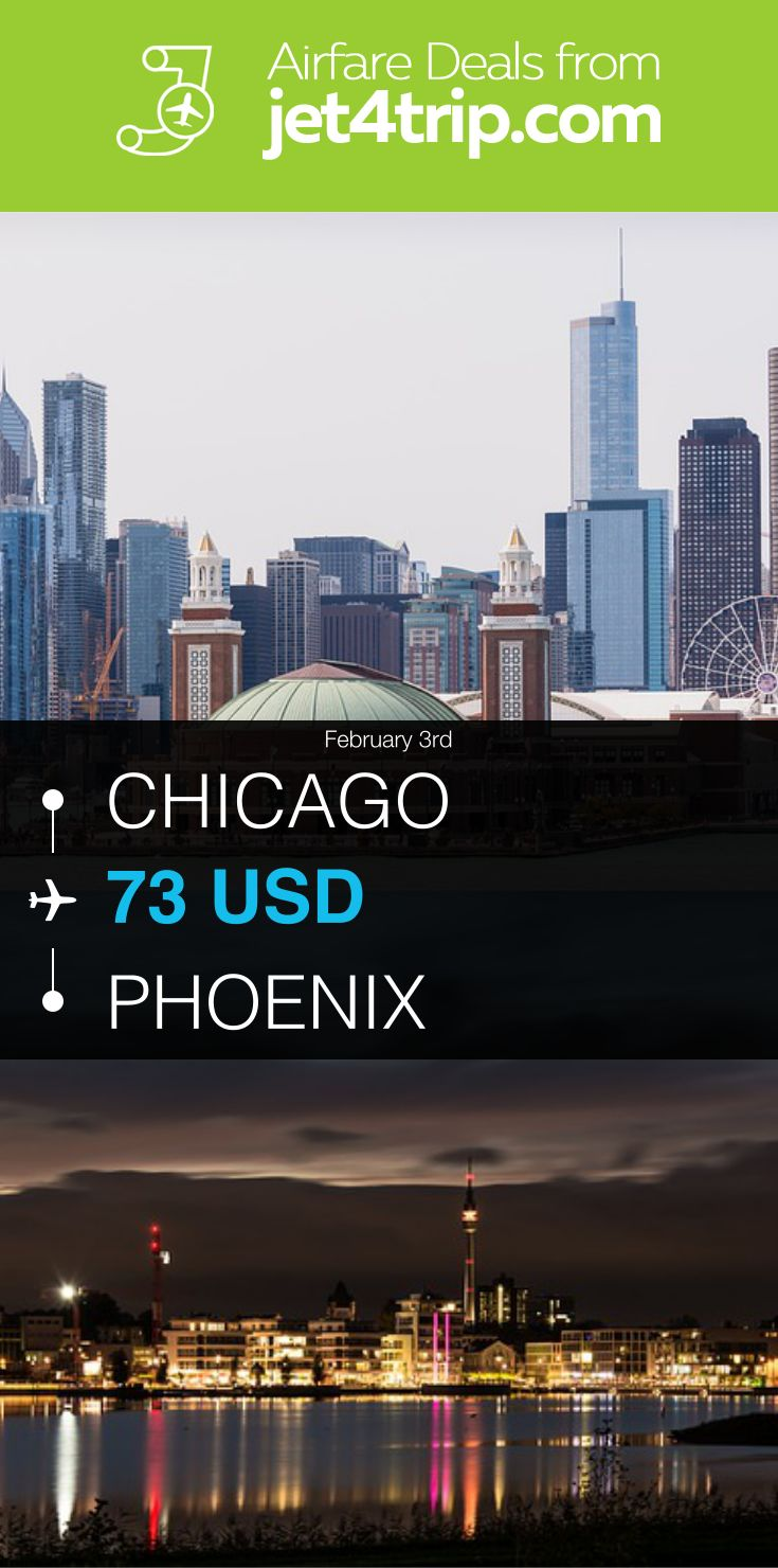 Flight from Chicago to Phoenix for $73 by United Airlines #travel #ticket #deals #flight #CHI #PHX #Chicago #Phoenix #UA #United Airlines