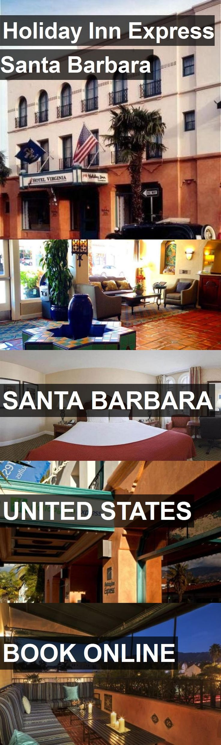 Us Map With State Abbreviations And Time Zones%0A Hotel Holiday Inn Express Santa Barbara in Santa Barbara  United States   For more information