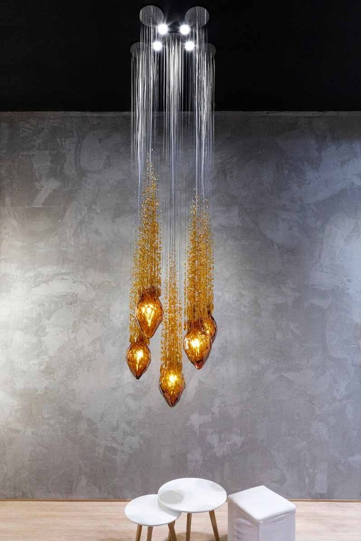 Flash By @lukacka For Sans Souci   A Solitary Pendant Looking Impressive On  A Curtain Of Cut Beads. A Modern Light Fixture Of Regal Jewel That Is The  ...