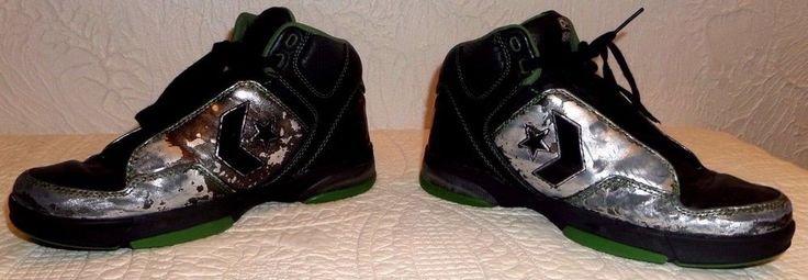 Rare Converse Weapon EVO Mid basketball (Men's US Sz. 9) (Womens US Sz 10.5) VGC #Converse #BasketballShoes