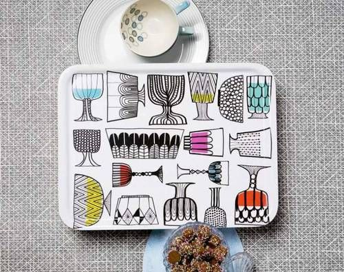 "The pattern ""Kippis"" by Maija Louekari for Marimekko"