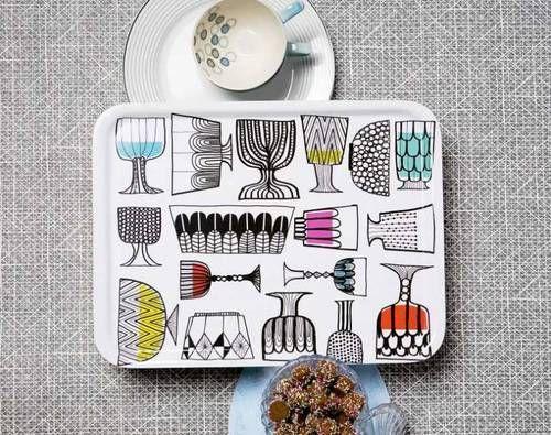 "The pattern ""Kippis"" by Maija Louekari for Marimekko"
