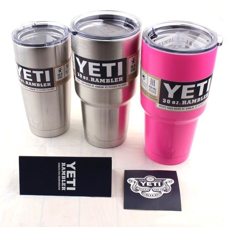 New yeti rambler #tumbler cup stainless #steel coolers w/lid #coffee rtic mug ,  View more on the LINK: http://www.zeppy.io/product/gb/2/201647913366/