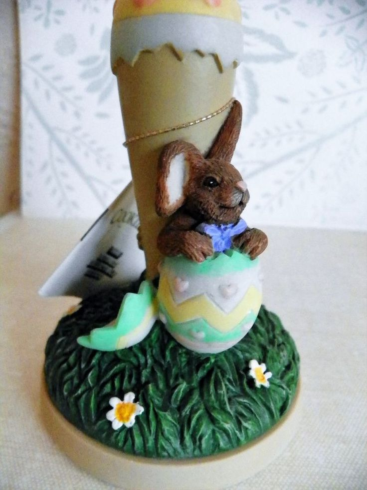 New Brown Bag Cookie Art Stamp EASTER Egg #22 w/Recipe Book Bunny Retired 1998 #BrownBag
