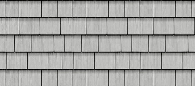 Sterling Gray Cedar Impressions 174 Double 7 Quot Straight Edge