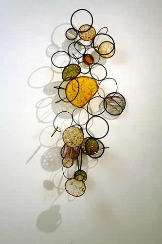 metal, fibers, paper, wax, and shellac 2010 (Contemporary Sculpture, Mixed Media, Abstract)