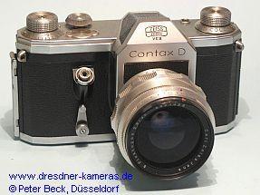 Contax D #56914 mit Flektogon 2,8/35; mit Gravur Zeiss Ikon VEB