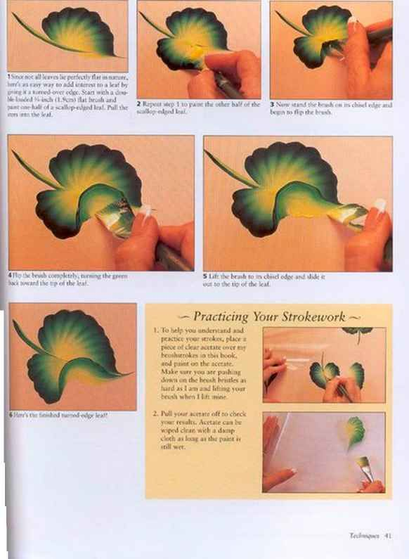 One Stroke Leaf