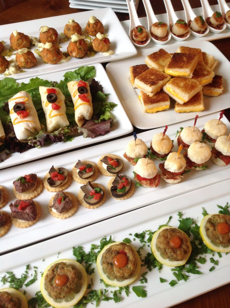 17 best images about fun catering ideas on pinterest for Canape hors d oeuvres difference