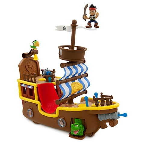 Jake and the Never Land Pirates Musical Play SetDisney Stores, Pirate Ships, Land Pirates, Play Sets, Gift Ideas, Music Pirates, Plays Sets, Bucky Plays, Jake Music