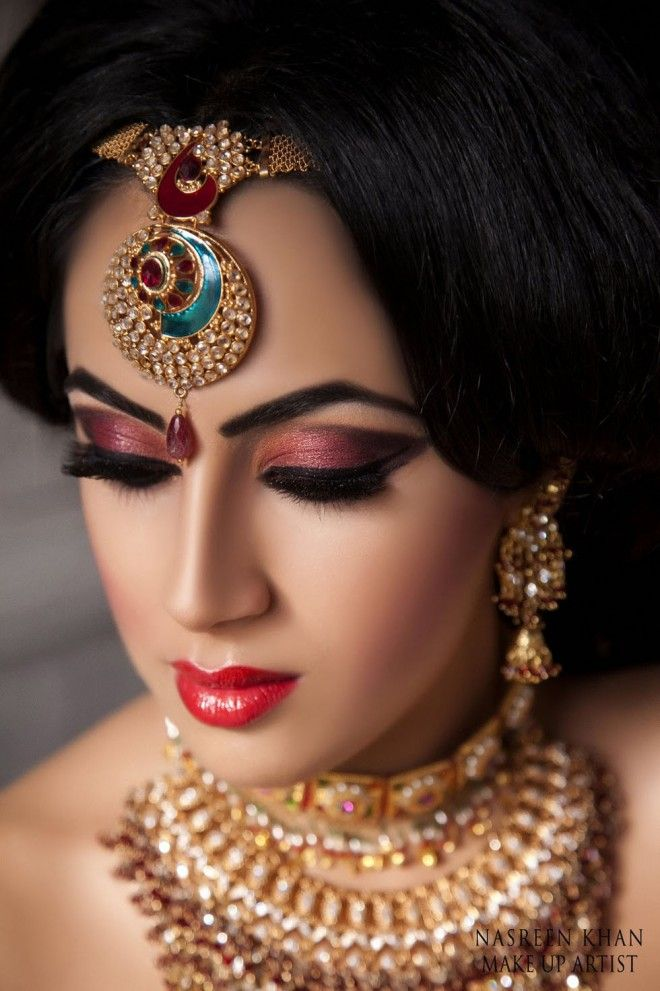 Makeup Artist Wilford Nottingham Image 1 Of 30 Most Beautiful Indian Wedding Photography Exles