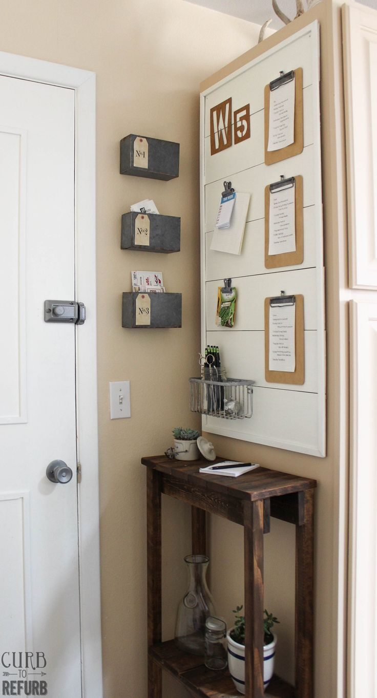 The 25 best narrow hallway table ideas on pinterest for Hallway wall decor