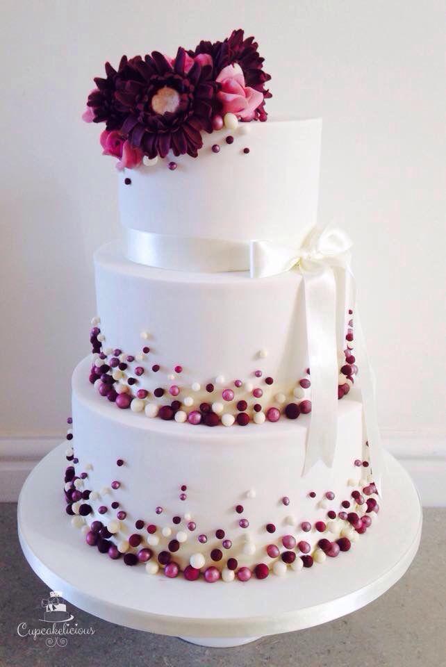 Modern Wedding Cakes Without Fondant