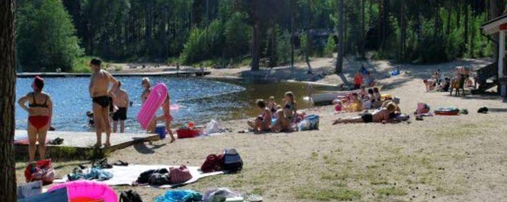 Lehmijärvi uimaranta, Lehmirannantie 121  25170 Kotalato