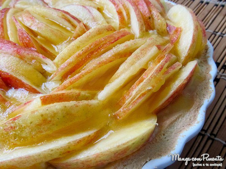 Torta de Maçã de Padaria {ou outra fruta que você quiser colocar na torta}