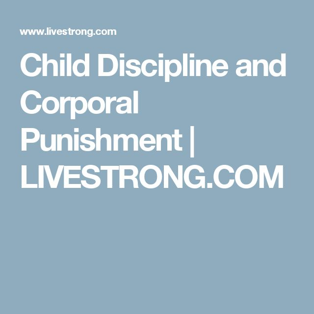 essay on child discipline What is the best way to discipline my child as a parent, one of your jobs to teach your child to behave while this can take time, try not to get frustrated when.