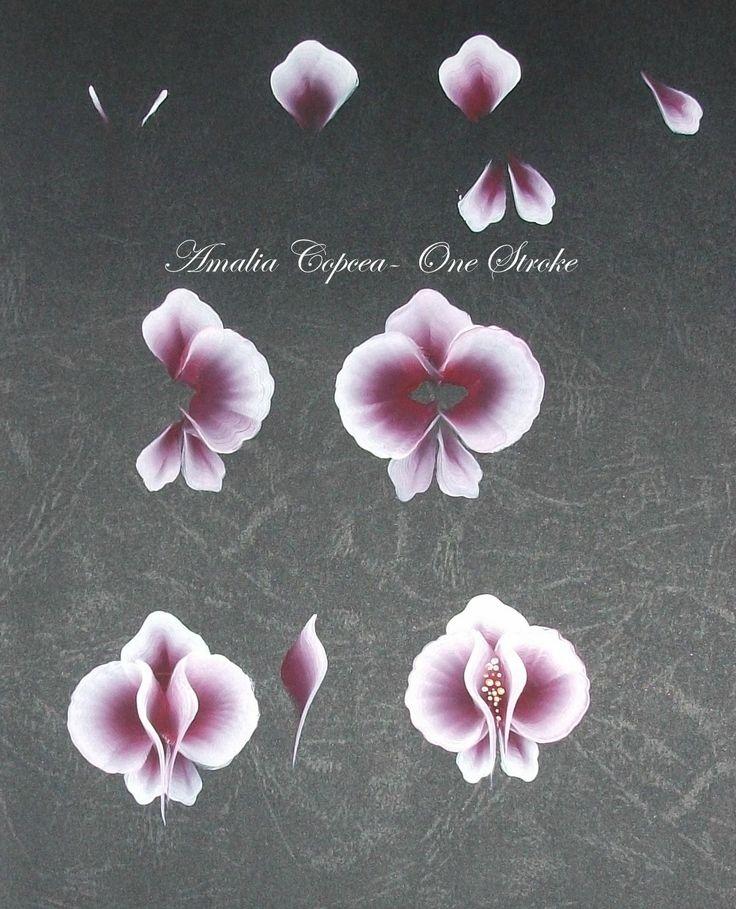 Arte del fiore, Fiori unghie, Tutorial per disegnare fiori