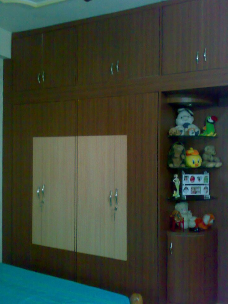 28 best modular wardrobes images on pinterest tiles for Bedroom cupboard designs in india