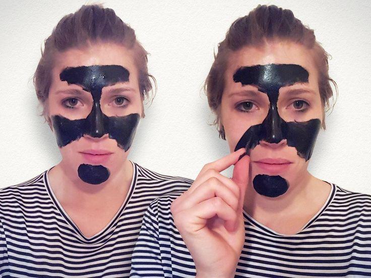 Schwarze Masken gegen Mitesser? Wir haben die Peel-Off Masken getestet