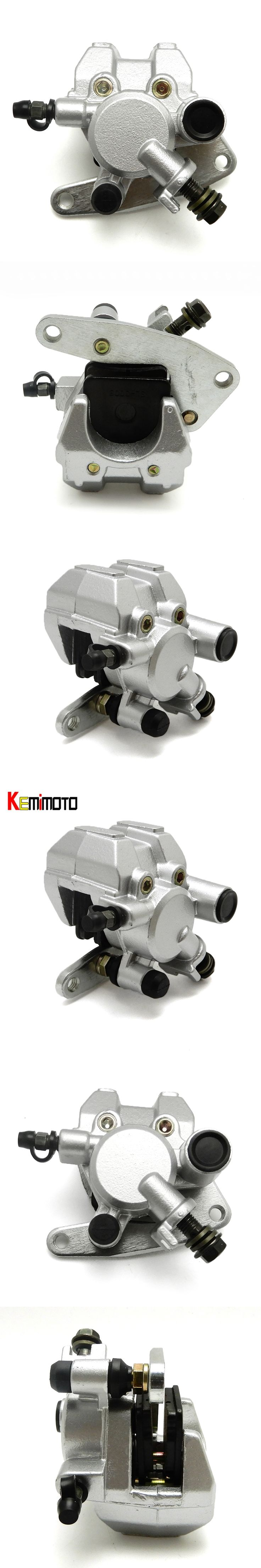 KEMiMOTO ATV for YAMAHA BANSHEE 350 WOLVERINE 350 4X4 RAPTOR 660WARRIOR 350 Left Front Brake Caliper Cylinder