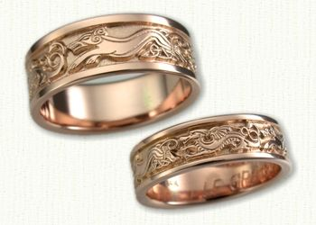 62 best 14kt Rose Gold Jewelry by deSignet images on Pinterest