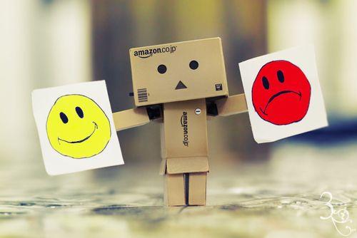 Amazon Box Robot Moody