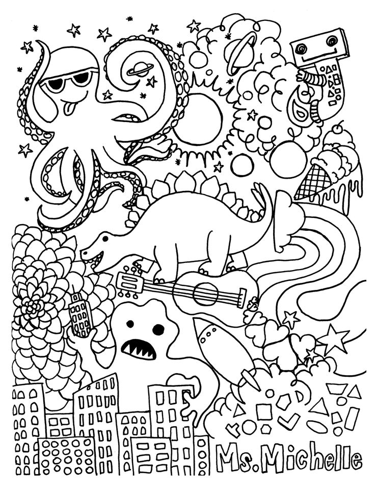 25+ Great Image of Intricate Coloring Pages