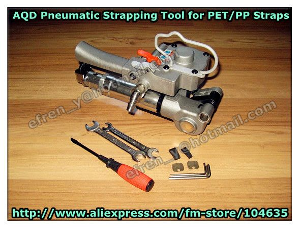 Discount!  NEW Pneumatic Plastic Strapping Tools For PET PP Strapping 13-19mm, AQD-19 //Price: $US $265.00 & FREE Shipping //     #clknetwork