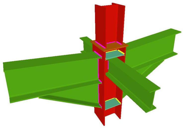17 best charpente metallique images on pinterest civil engineering architecture details and beams. Black Bedroom Furniture Sets. Home Design Ideas