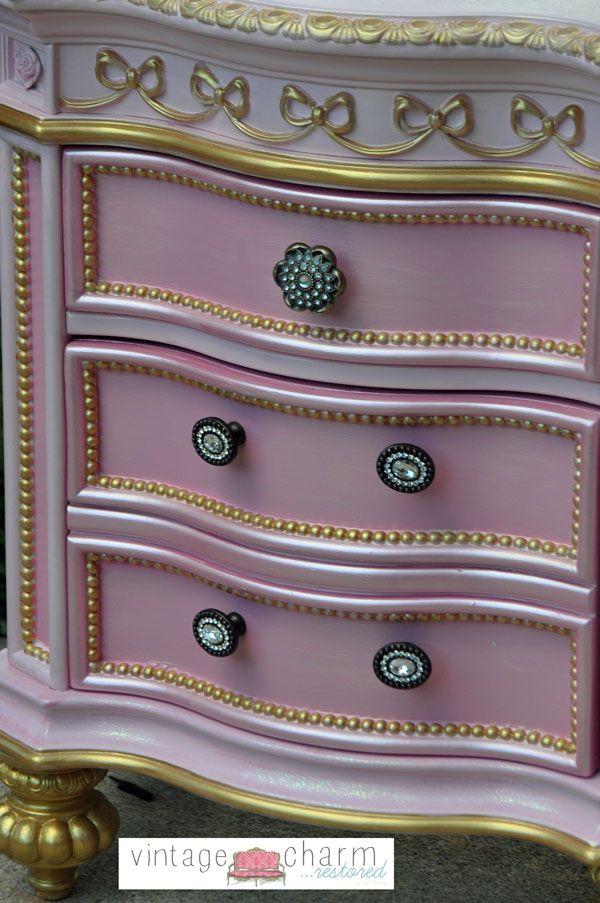 Hometalk | Hand Painted Princess Furniture