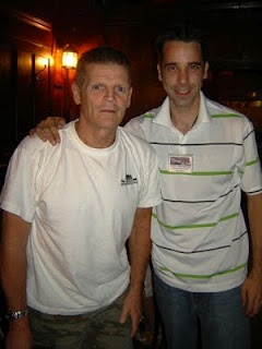 All Habs Hockey Party at McLean's: Stevo with Chris Nilan