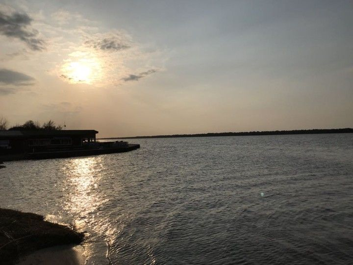 Domek Letniskowy Nad Jeziorem 7290317597 Oficjalne Archiwum Allegro Celestial Outdoor Sunset