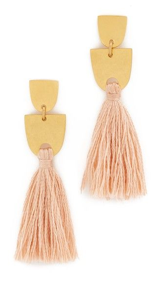 Madewell Tassel Earrings | SHOPBOP