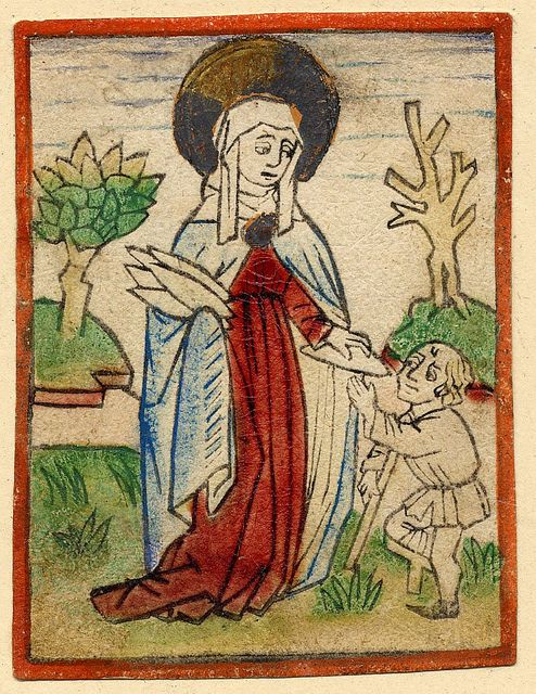 St Elizabeth of Hungary c. 1470 | Flickr - Photo Sharing!