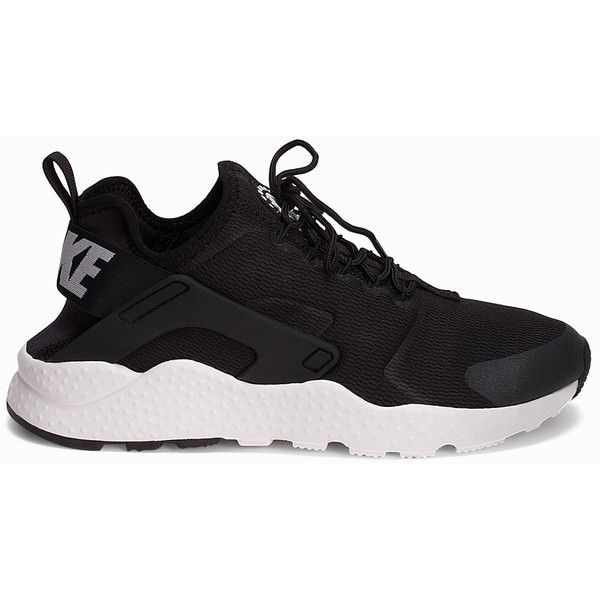 Nike Air Huarache Run Ultra ($170) ❤ liked on Polyvore featuring shoes, everyday shoes, womens-fashion, round cap, nike footwear, nike shoes, nike and laced up shoes