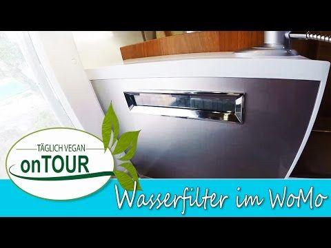 Wasserfilter im Wohnmobil | Basisches Wasser | Gesundes Wasser | Autark Womo | Showroom: Küche :-)