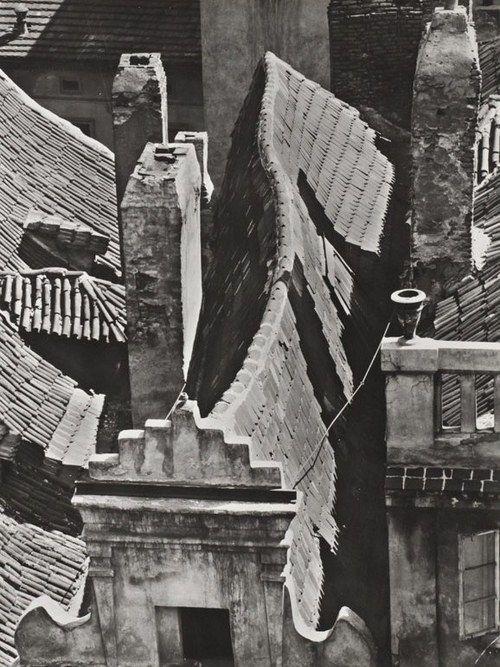 Jiri Jenicek - Prague Roofs, 1959