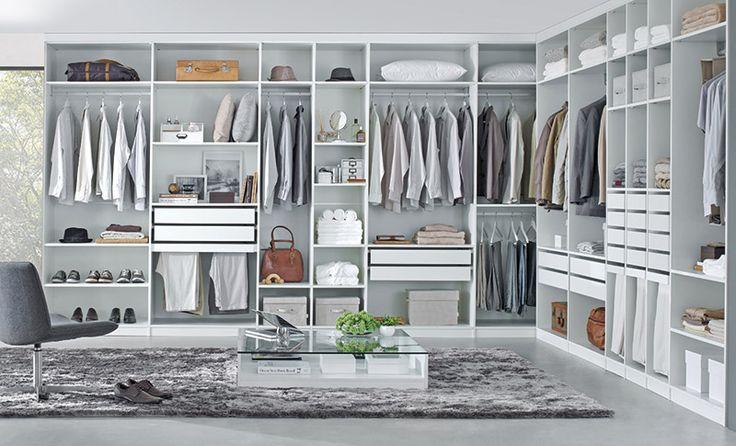 Tok&Stok - Linha Project De um pequeno armário a um closet completo, a Linha Project possibilita a criação de uma infinidade de composições para atender a todas as necessidades da casa.