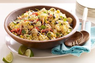 Mexicali Pasta Salad by Kraft.  Looks super yummy and super easy.