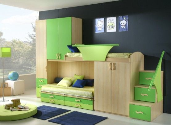 boy and girl bedroom ideas | 50 Brilliant Boys and Girls Room Designs – Unoxtutti from Giessegi ...