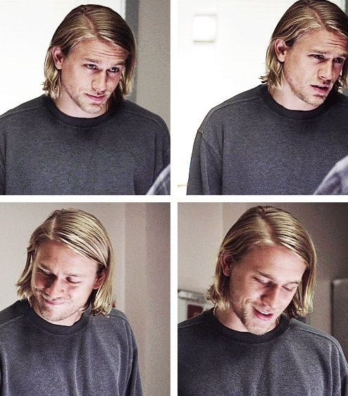 Charlie as Jax-- I don't know why but the top left picture reminds me of eugene from tangled