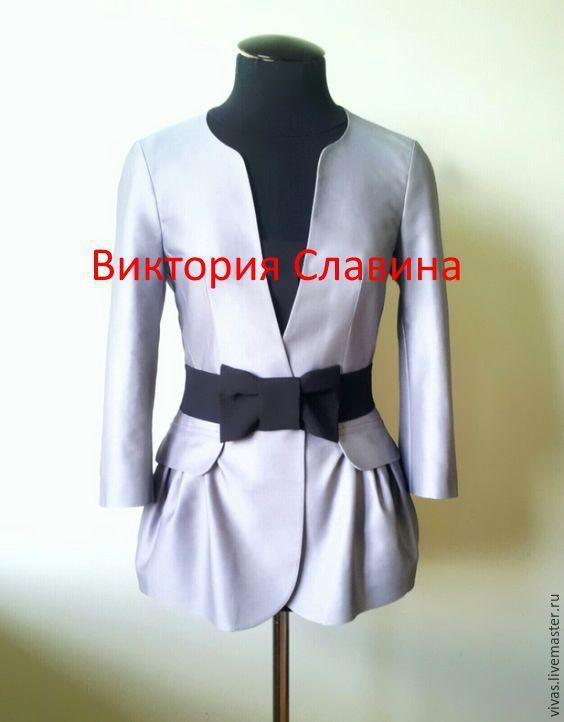 Купить по мотивам Армани. скидка(лето). - серый, пиджак, пиджак женский, офисные стиль, повседневный пиджак