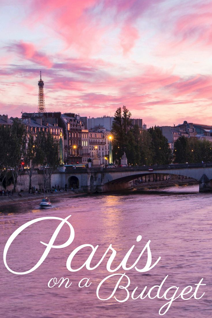 Dream of visiting Paris but don't think you can afford this posh city? Here's how to do Paris on a budget!: