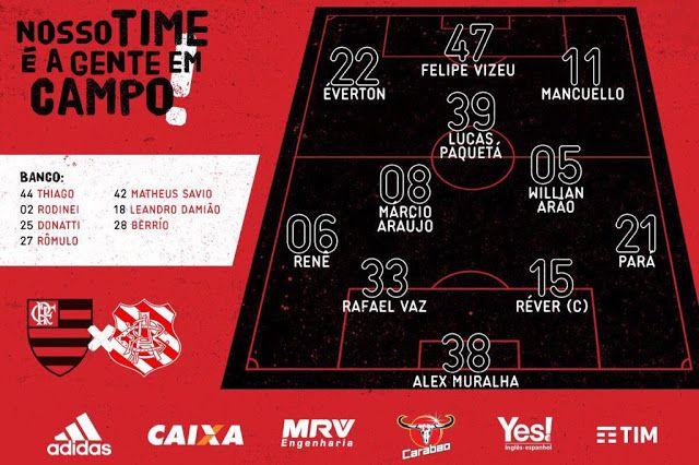 Com time misto Flamengo joga contra o Bangu por classificação antecipada