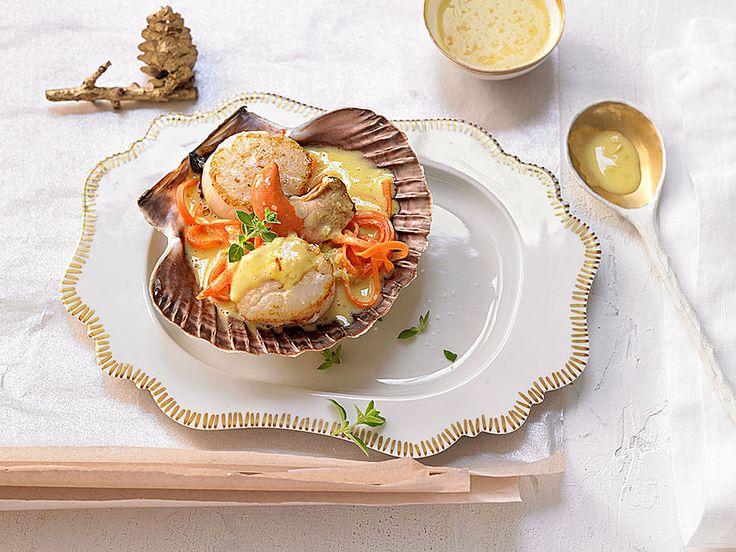 Jakobsmuscheln mit Safransauce, ein schmackhaftes Rezept aus der Kategorie Krustentier & Muscheln. Bewertungen: 136. Durchschnitt: Ø 4,4.