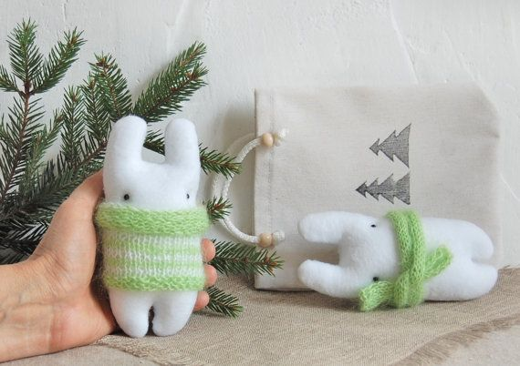 Christmas gift ideas Childrens Gift Animal doll by IrinaMargarita